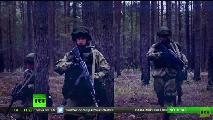 El final de los ejercicios Zapad 2017 termina con los rumores de una 'invasión rusa'