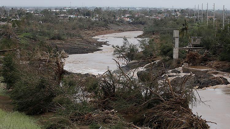 Puerto Rico: La presa de Guajataca resulta dañada por el huracán María (VIDEO)
