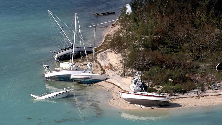 FOTO: Una embarcación 'fantasma' aparece en la costa de Florida
