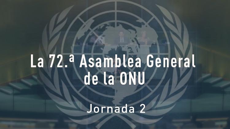 El debate general de la Asamblea General de la ONU (Día 2)