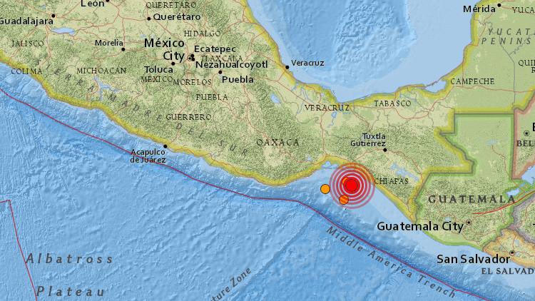 Se registra un terremoto en México de magnitud 5,8
