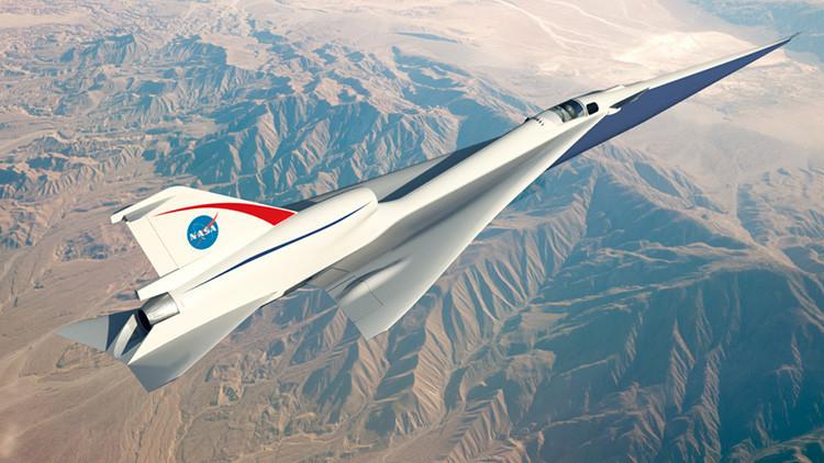 Probarán en la NASA el prototipo de un avión que reducirá a la mitad el tiempo de los vuelos