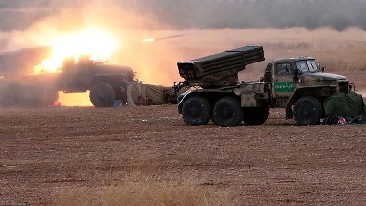 Alaridos entre obuses: Últimos minutos de un grupo yihadista alcanzado por un tanque sirio (VIDEOS)