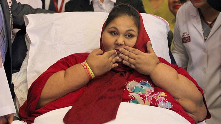Muere 'la mujer más pesada del mundo' (FOTOS)