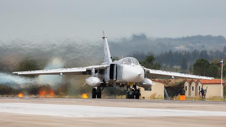 VIDEO: Así aniquila la aviación rusa las instalaciones del Estado Islámico en Siria