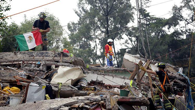 Anuncian cuándo finalizarán las operaciones de rescate por el terremoto en México