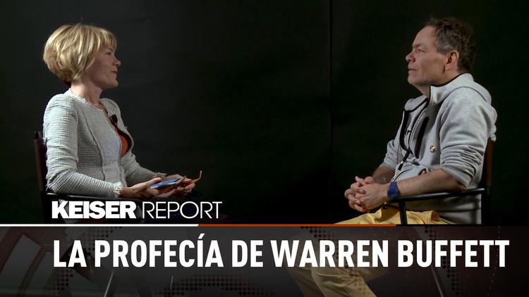 La profecía de Warren Buffett