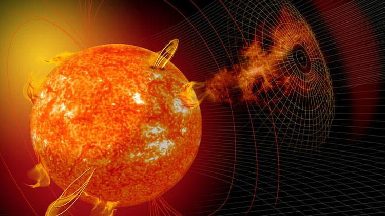 Los 'huracanes espaciales', una amenaza silenciosa para la Tierra