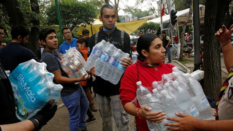 Millón y medio de mexicanos sin agua por causa del terremoto