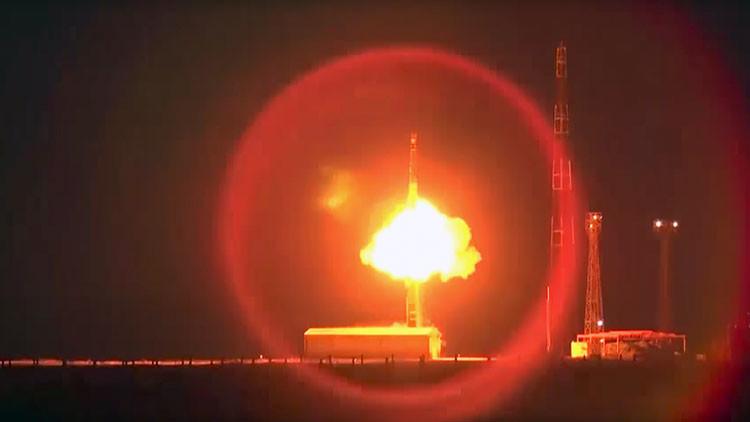 VIDEO: Así fue el lanzamiento de un misil balístico intercontinental RS-12M Topol