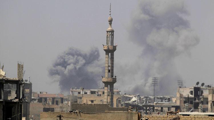 SANA: La coalición liderada por EE.UU. realiza ataques aéreos en Deir ez Zor con fósforo blanco