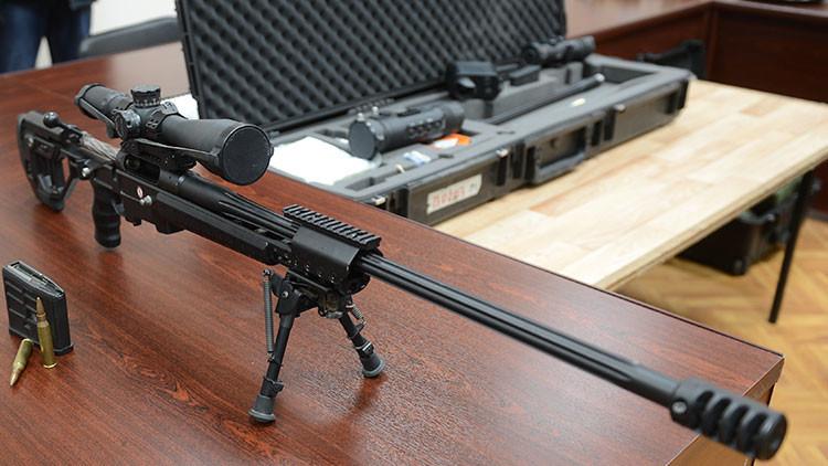 Los servicios secretos de Rusia incorporan el nuevo rifle para francotiradores Tóchnost