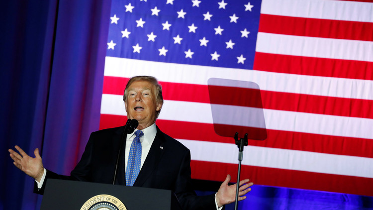 """Trump anuncia una """"histórica"""" reducción fiscal"""