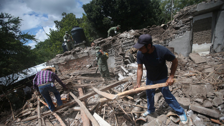 Reconstrucción de México tras los sismos podría costar 2.000 millones de dólares