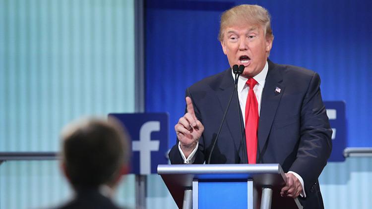 """Trump acusa a Facebook de """"estar siempre en su contra"""" y lo iguala con las 'noticias falsas'"""