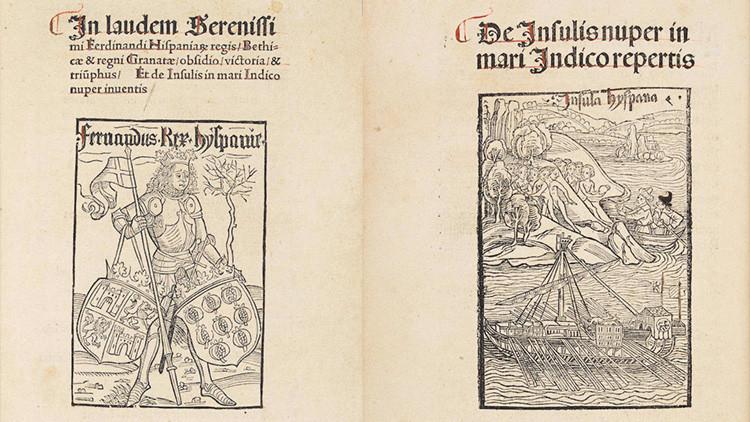 Copia del anuncio de Colón a su regreso de América fue subastada en más de 750.000 dólares