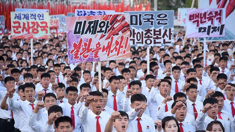 4,7 millones de voluntarios se alistan al Ejército norcoreano para luchar contra EE.UU.