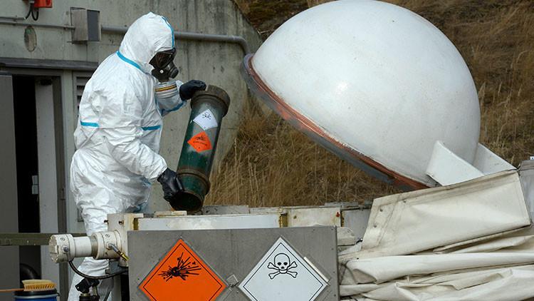 EE.UU. revela cuándo destruirá sus armas químicas