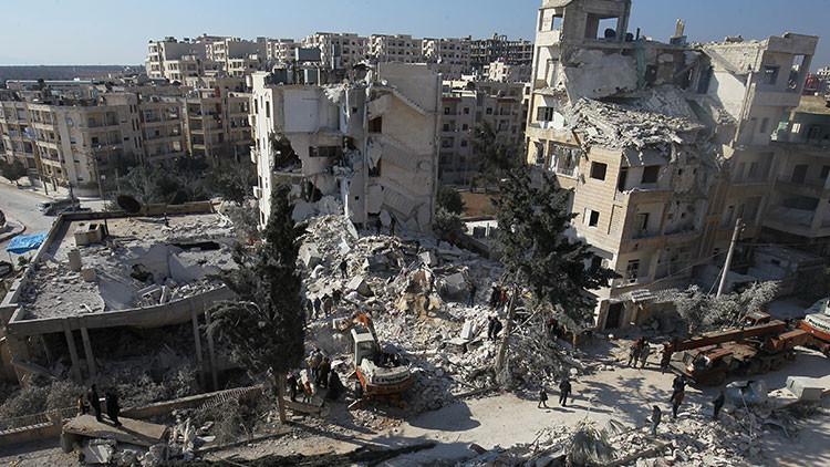 Moscú niega que sus aviones mataran a 150 civiles en la provincia siria de Idlib