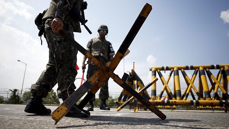 Muere de un disparo un soldado surcoreano cerca de la frontera con Corea del Norte