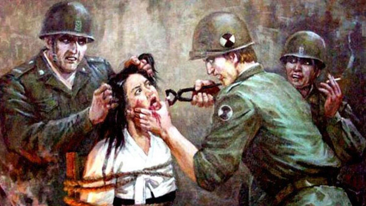 Matando bebés y torturando mujeres: el escalofriante retrato norcoreano de los soldados de EE.UU.