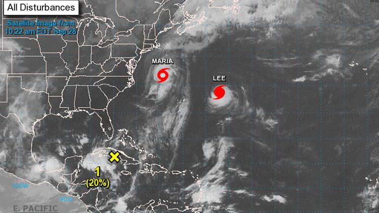 """""""Supertormenta"""": Dos huracanes amenazan con fundirse y sembrar el caos en el Reino Unido"""