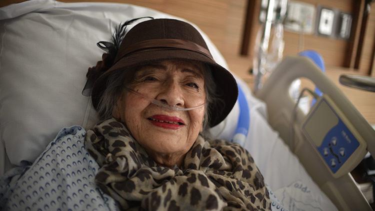 Una actriz de 87 años anima a México tras sobrevivir de milagro a sus dos grandes terremotos