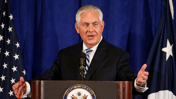 Corea del Norte y visita de Trump: Tillerson llega a China en su segundo viaje oficial