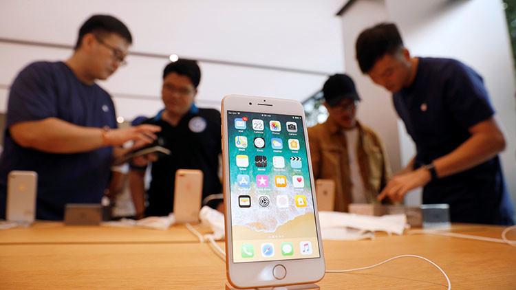 Sorpresa desagradable: el iPhone 8 sale a la venta con un problema en su función más básica (VIDEO)
