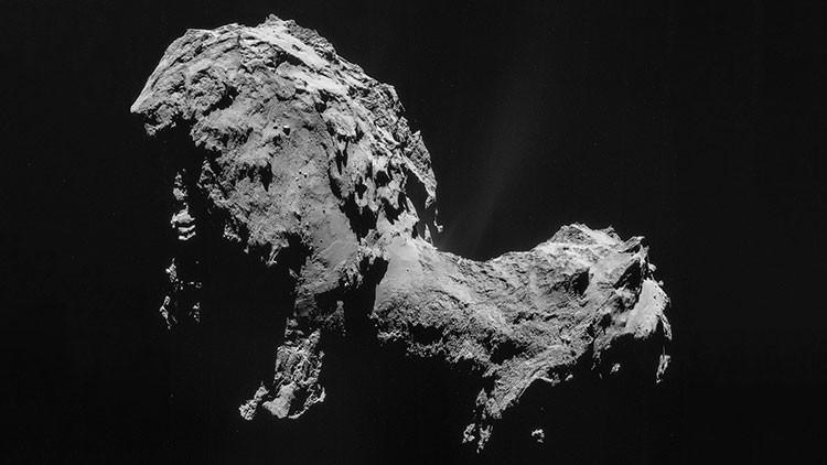 """Sorpresa inesperada"": publican la última imagen del cometa Churyumov-Gerasimenko hecha por Rosetta"