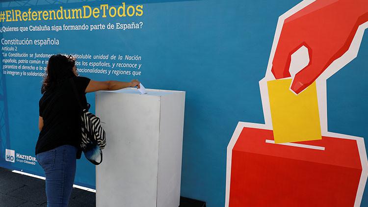 Los miembros de mesa del referéndum catalán se exponen a 600.000 euros de multa