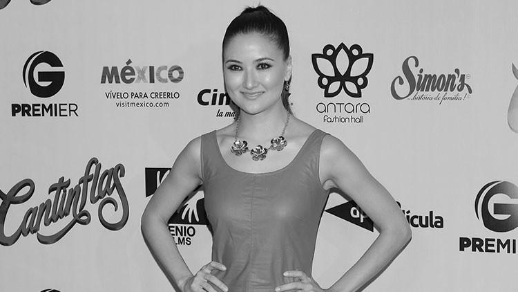 México: Dolor por la muerte de una actriz embarazada de ocho meses (Fotos)