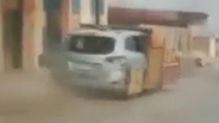 Graban 'desde dentro' un ataque de un coche yihadista contra un convoy iraquí (VIDEO)