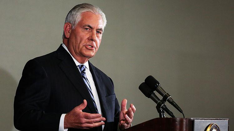 """Tillerson: """"EE.UU. no reconoce el referéndum independentista del Kurdistán iraquí"""""""
