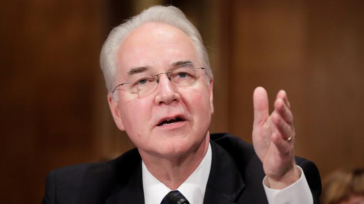 Dimite Thomas Price, secretario de Salud y Servicios Humanos de EE.UU.