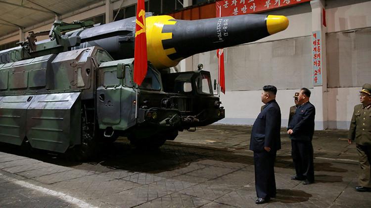 Detectan traslado de misiles desde una planta en Corea del Norte