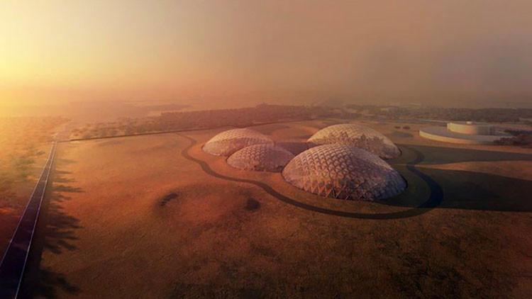 Así será la enorme ciudad 'marciana' en el desierto árabe (FOTOS)