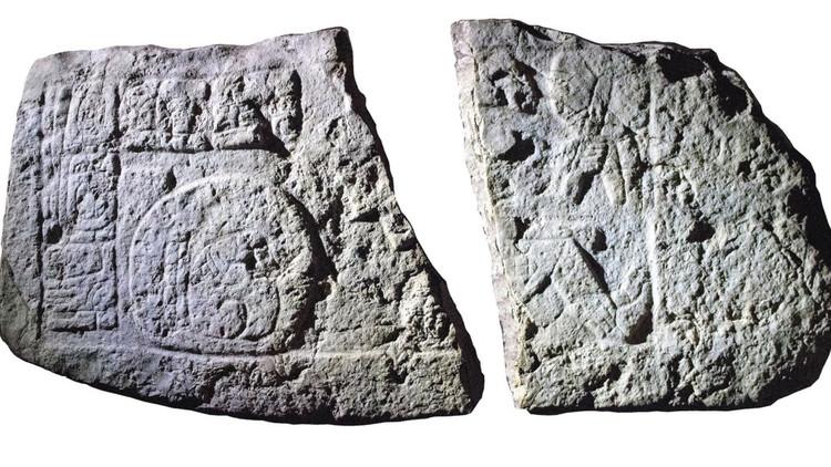 Descubren imágenes de 'beisbolistas' de la época maya (FOTO)