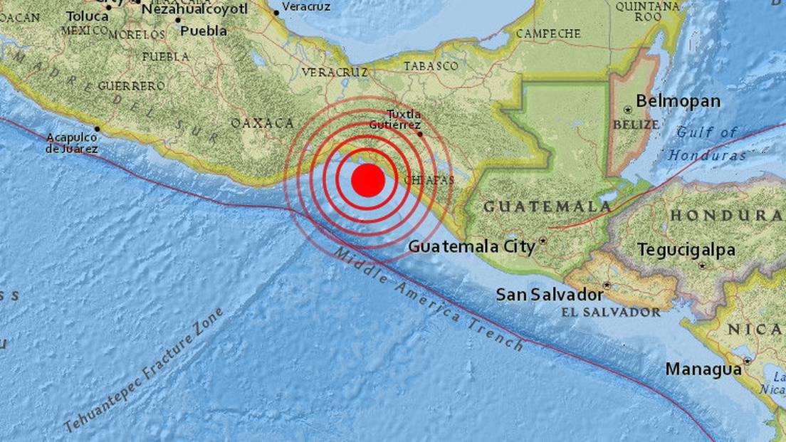 Alerta de tsunami en ocho países de América Latina tras sufrir ...