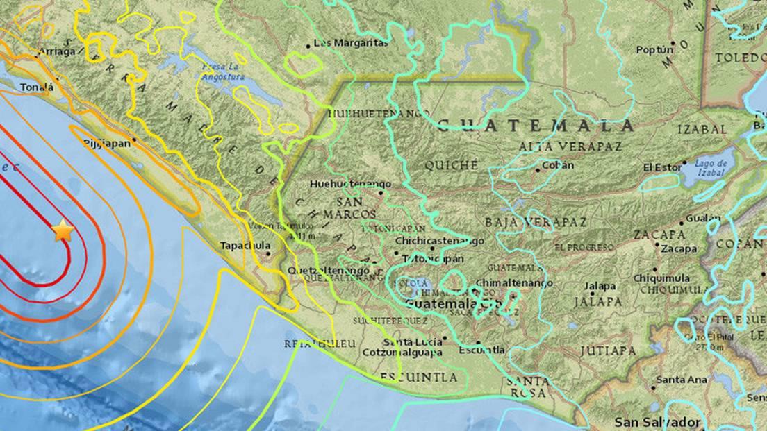 El Terremoto De Mexico Alcanzo Una Magnitud De 7 7 En Guatemala Rt