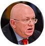 El embajador de Rusia ante la ONU, Vasili Nebenzia