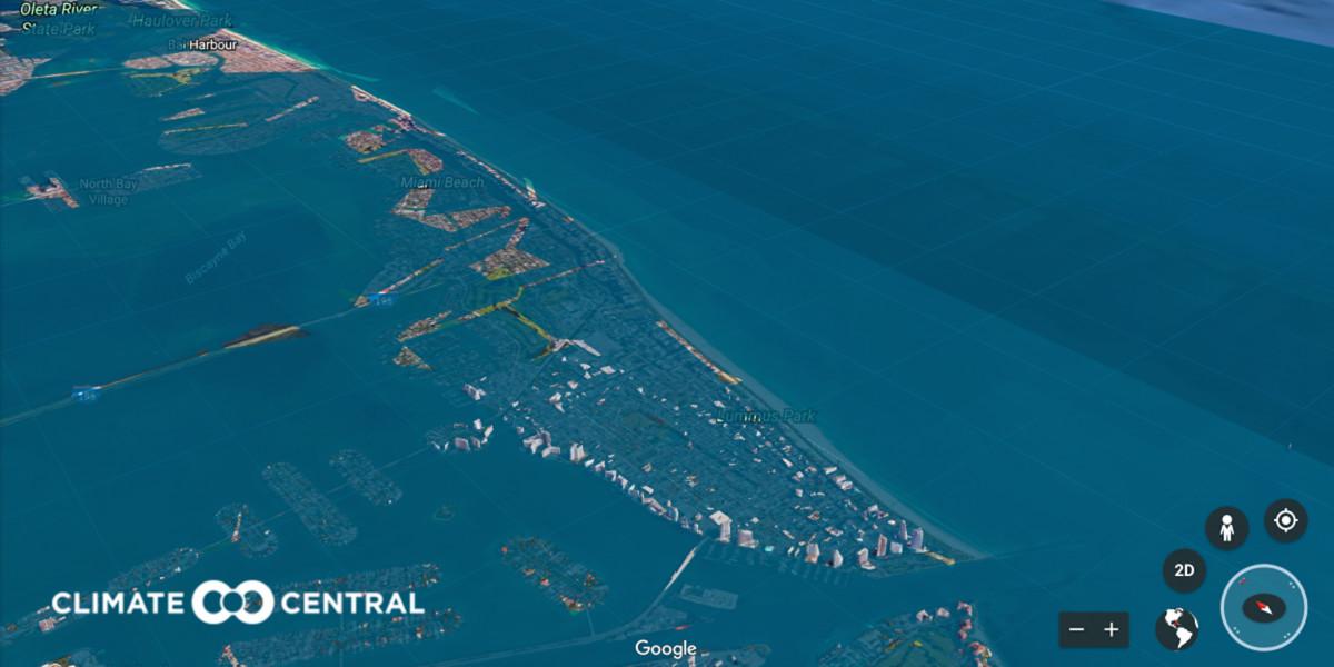 Colapsa una grúa de construcción en el inundado centro de Miami — Irma