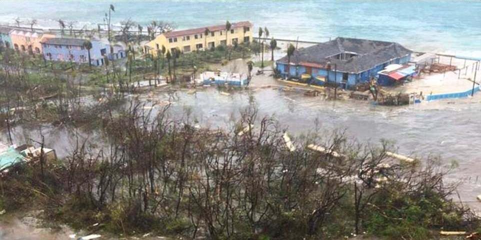 Huracán Irma cambió color del paisaje del Caribe