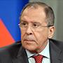 Serguéi Lavrov, canciller ruso