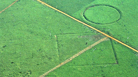 Geoglifos en el estado brasileño de Acre