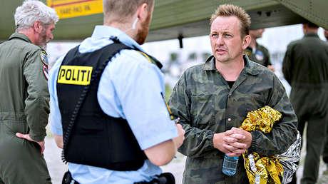 Peter Madsen, inventor y propietario danés del submarino Nautilus en el puerto de Dragor, al sur de Copenhague, Dinamarca, el 11 de agosto de 2017