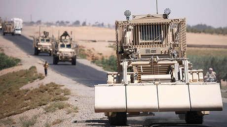 Fuerzas estadounidenses en la ciudad siria de Raqa, 31 de julio de 2017