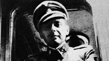 El médico nazi Josef Mengele (1911-1979)