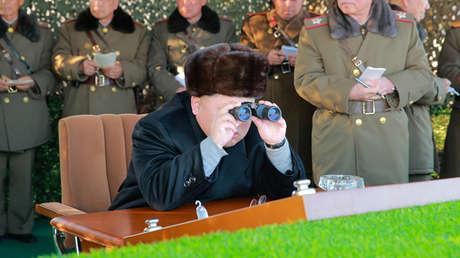 El líder de Corea del Norte, Kim Jong-un, en diciembre de 2016.