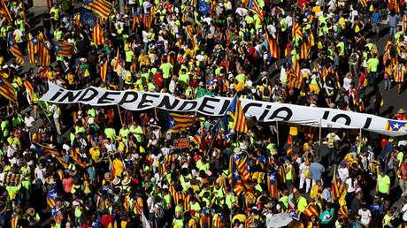Miles de personas se manifestaron a favor de la independencia durante el Día de Cataluña, el pasado 11 de septiembre